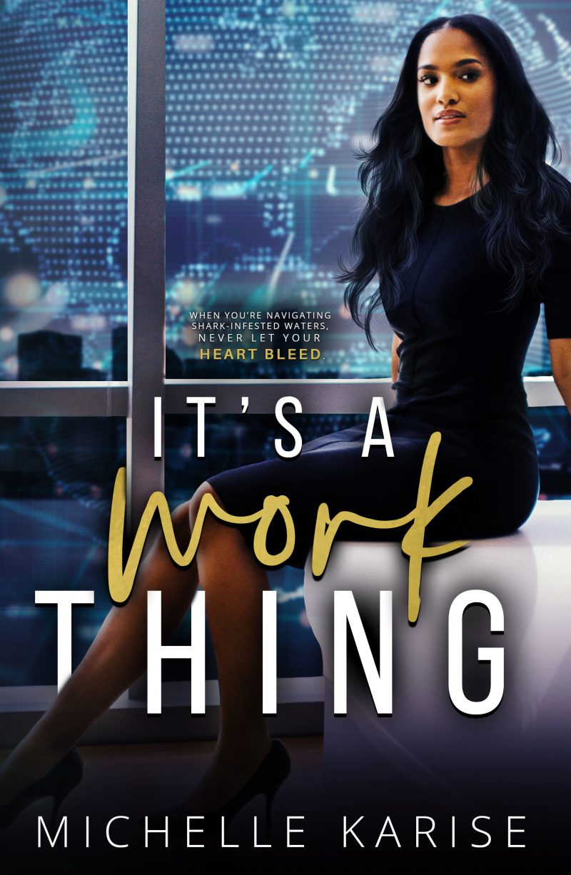 Cover Reveal – It's a Work Thing